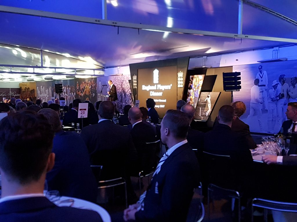 Event sound and lighting for ecb at lords cricket