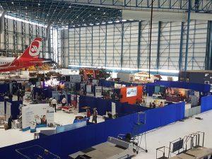 Business exhibition av supplier stansted