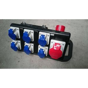 32A three phase rubber box distro rent