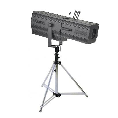 Follow spot light with stand 575w rental