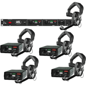 wired intercom system for theatrical productions