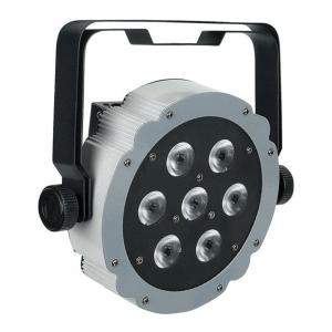 Showtec flat LED uplighter grey surround