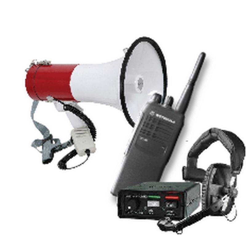 communication equipment in rental range