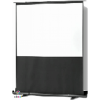 4:3 ratio smart pull up projector screen not like tripod stands