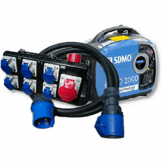 Power, Generator, Cabling Distros