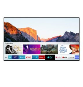 Samsung UHD TV for rental for meetings, shows and exhibitions
