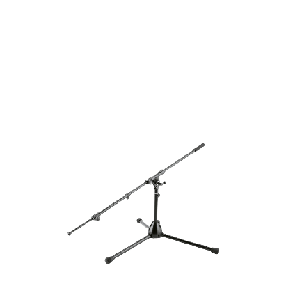Low level microphone stand for instruments