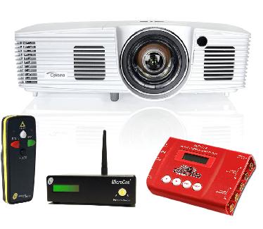 Av video equipment rental essex projector, microcue, screen, decimator